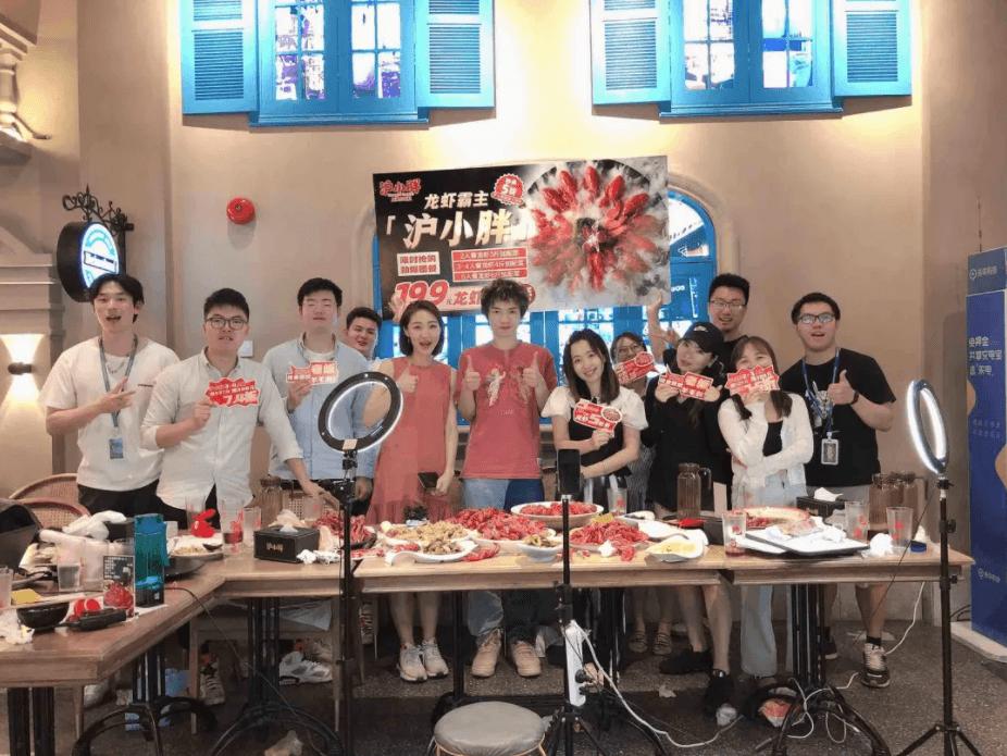 沪小胖龙虾短视频营销3